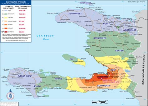map of haiti a pact with the the united states and the fate of