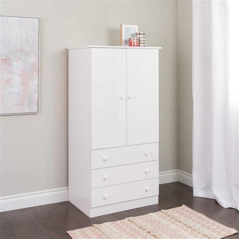 prepac armoire prepac edenvale white armoire jwd 3060 k the home depot