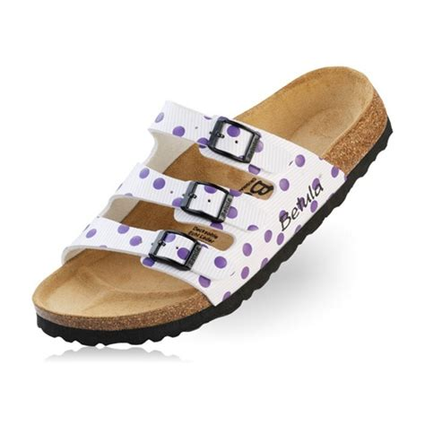 betula shoes betula by birkenstock woogie sandals white lilac