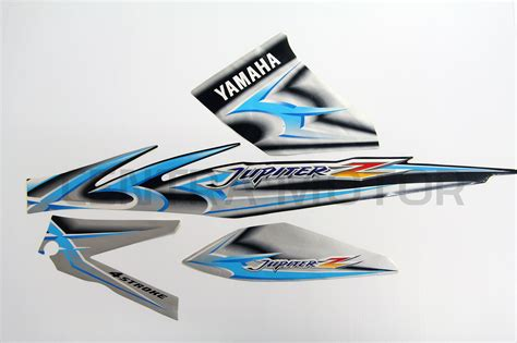 Stripping Sticker Yamaha Jupiter Orange jual sticker striping jupiter z 2006 semua warna harleon