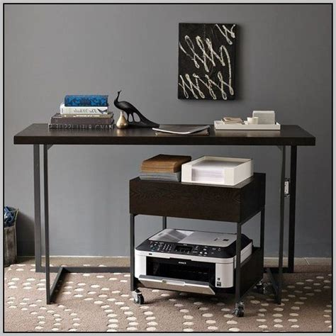 desk printer stand desk printer stand ikea desk home design ideas