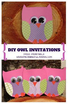 printable owl holding a card from template large owl invitations invitation templates and owl on