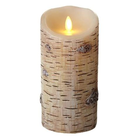 luminara 02169 realistic led wax candle