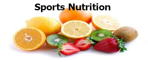 Sports Nutrition Sports Nutrition Lessons Tes Teach