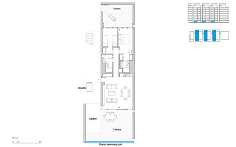 Apartment House Plans The Beach Houses In Jesolo Lido Village By Richard Meier