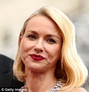 naomi watts on the cover of new beauty magazine says she hasn't had botox | daily mail online