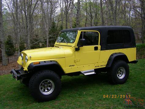 jeep scrambler hardtop jeep cj8 scrambler 1981