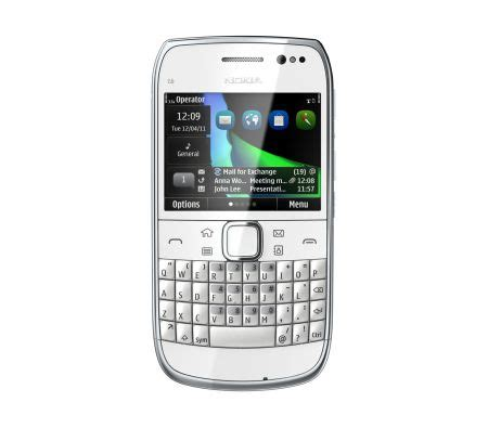 Hp Nokia Qwerty E6 nokia e6 00 compact smartphone with microsoft business apps touchscreen qwerty keyboard