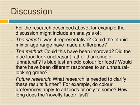 writing a discussion section of a research paper discussion section psychology research paper