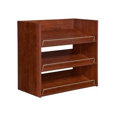Closetmaid Shoe Shelf by Closetmaid Impressions 3 Shelf Shoe Organizer In