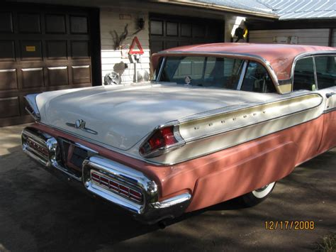 1957 mercury turnpike cruiser information and photos momentcar