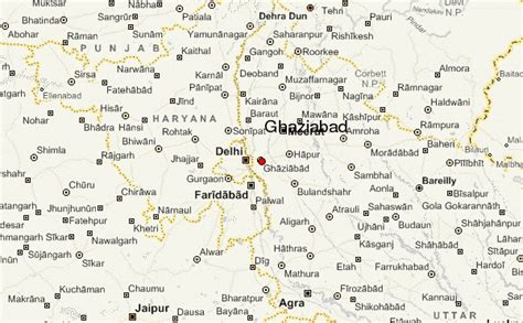 ghaziabad in india map ghaziabad location guide