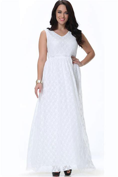 sleeveless dress unomatch women wedding sleeveless v neck plus size dress