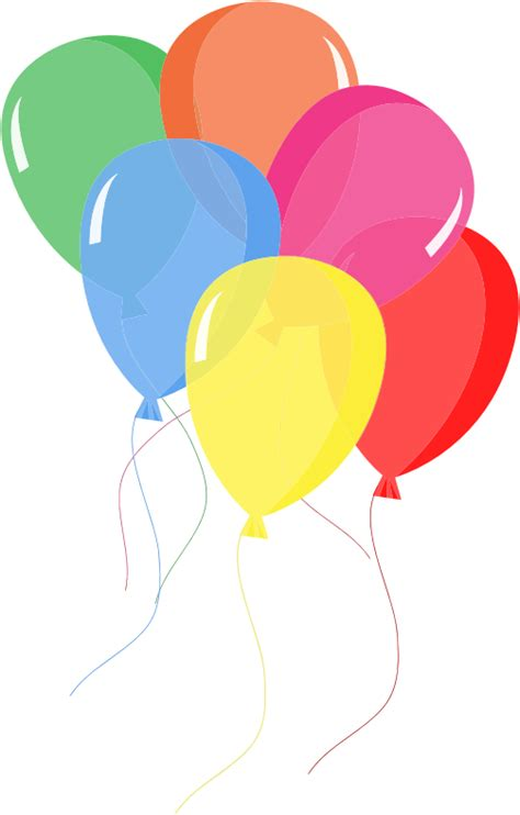 Clipart Birthday Balloons » Home Design 2017