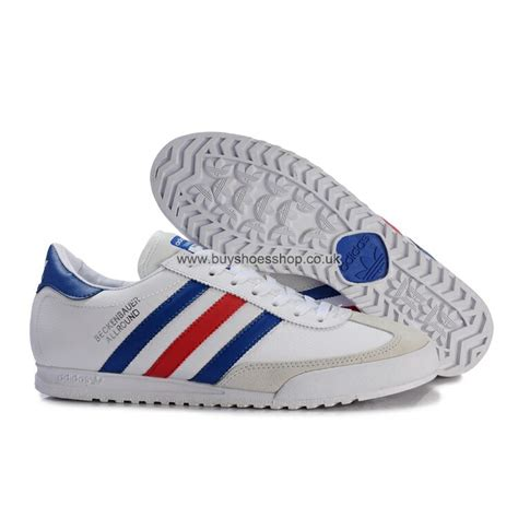 Adidas Blue List White 163 59 00 new adidas originals beckenbauer allround
