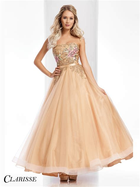 Prom Gowns by Clarisse Prom Dress 3010 Promgirl Net