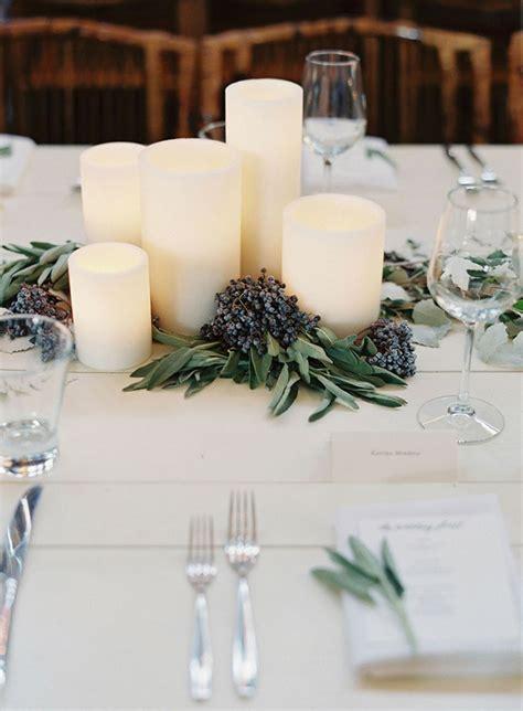 Candle Wedding Centerpieces An Affordable Romantic Idea Candle Floral Centerpieces