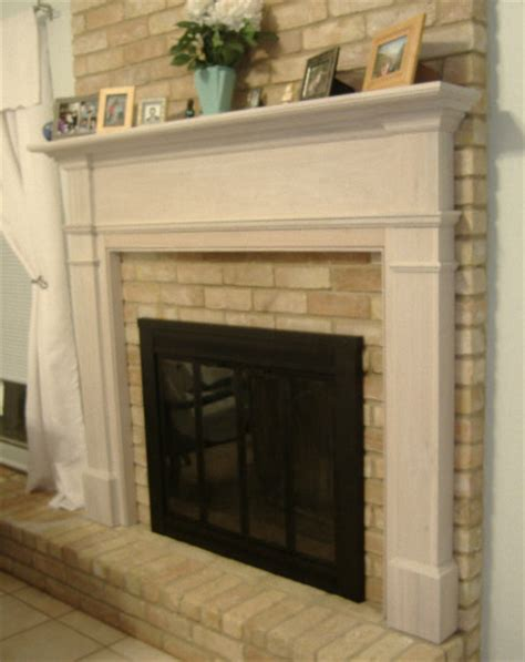 Fireplace Mantels On Brick by Thin Brick For Around Fireplace Fireplace Mantel Brick