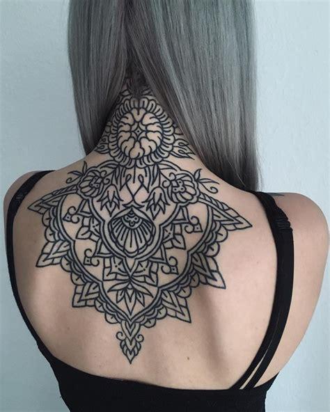 geometric back tattoos 23 geometric tattoos ideas cosmico