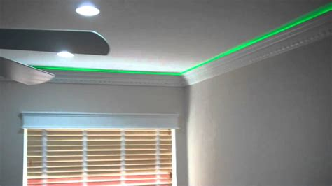 lighted crown molding led house exterior and interior