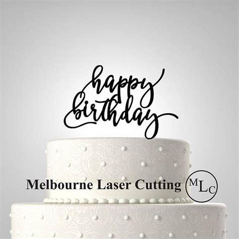 ideas  happy birthday cake topper  pinterest birthday cake toppers letter cake