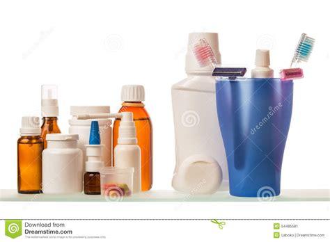 Shelf Of Medicine by Medicine Bottles On Shelf Stock Photo Image 54485581