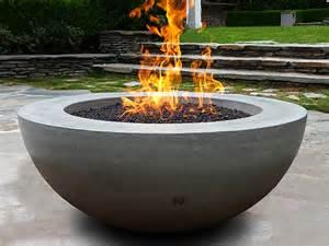 bowls ernsdorf design concrete pit bowls