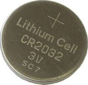 lithium battery (1 pc only) lithium coin cell, 3v for