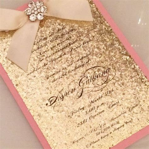best 25 quinceanera invitations ideas on pinterest