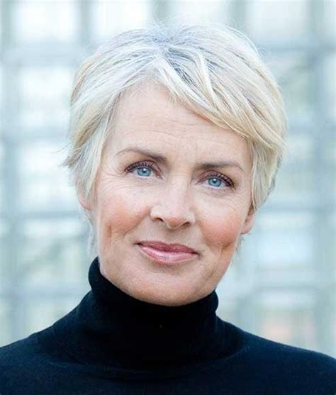 2018 Latest Short Haircuts For Older Women