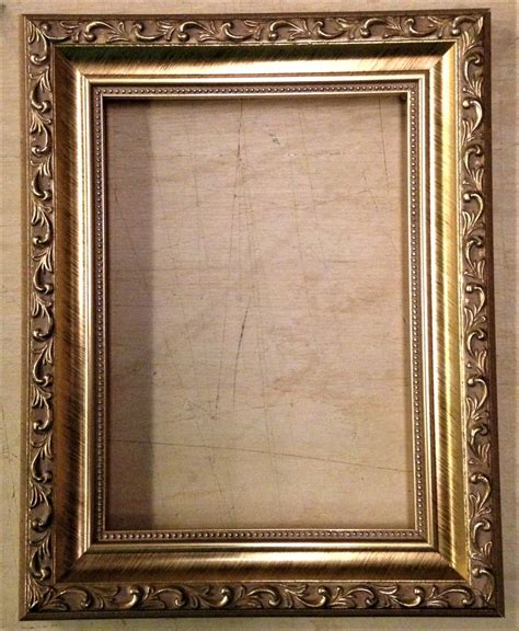 4 X 9 Picture Frame by 9 X 9 1 1 4 Quot Gold Ornate Picture Frame