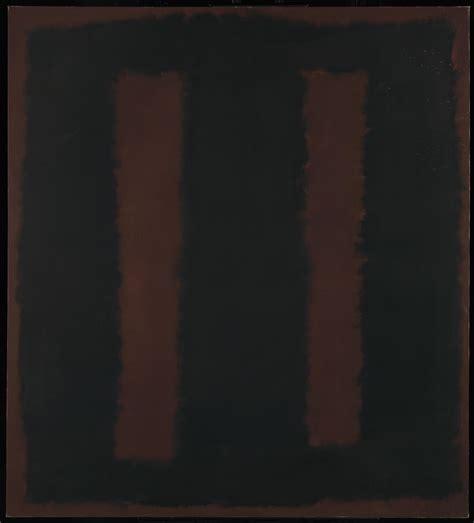 St Channel Maroon 3in1 black on maroon rothko tate