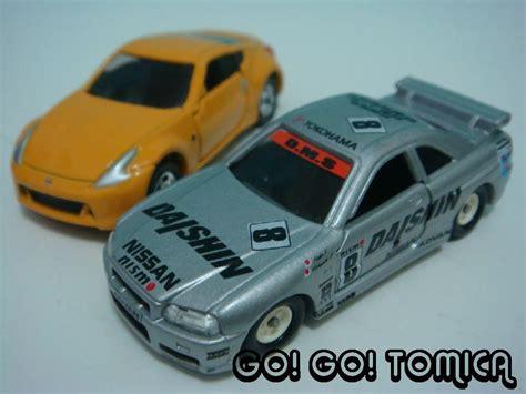 tomica nissan go go tomica tomica vs hotwheels nissan 370z gtr r34