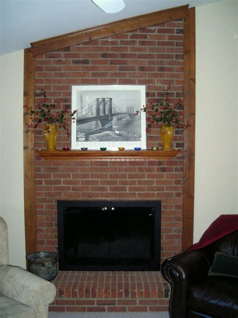 Fireplace Redesign by Brick Fireplace Remodel Pictures Fireplace Designs