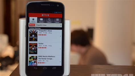 how to netflix from android phone to tv netflix for android updated to support android 4 0 devices the verge