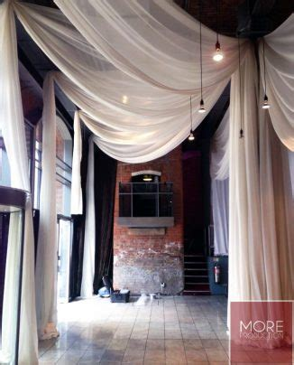 how to drape a ceiling ceiling drape installations