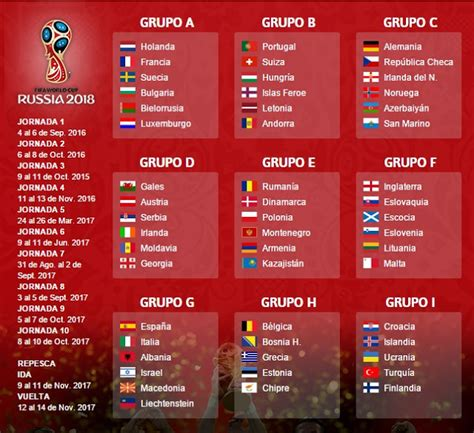 Calendario Eliminatorias Rusia 2018 Pdf Calendario 2015 Italia Calendar Template 2016