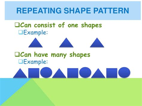 pattern definition preschool repeating and growing patterns