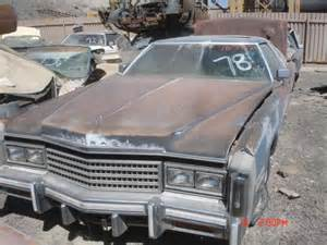 1978 Cadillac Coupe Parts 1978 Cadillac Eldorado 78ca7962d Desert Valley Auto Parts