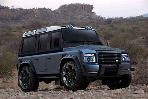 could the new defender look like this funrover land