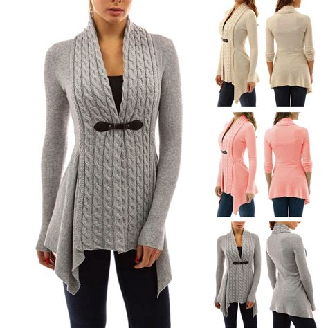 Sweater Casual sleeve sweater top casual irregular knitted