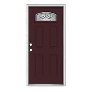 Lowes Prehung Exterior Doors Shop Reliabilt Craftsman Morelight Prehung Inswing Steel Entry Door Common 36 In X 80 In