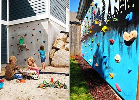 Kinderspielplatz Selber Bauen by Die 25 Besten Kletterwand Ideen Auf