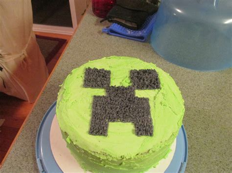 How To Decorate A Minecraft Cake by How To Decorate A Minecraft Creeper Cake 11 Steps Wikihow