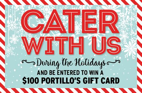 Illinois Sweepstakes Rules - portillo s holiday catering sweepstakes official rules general news news portillo s