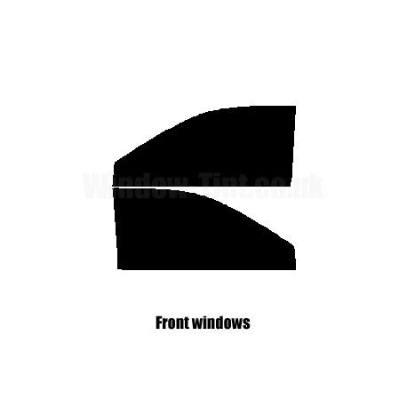 audi   door    pre cut window tint kit ebay