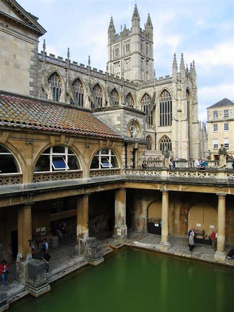 bathroom in england well preserved roman baths in bath england