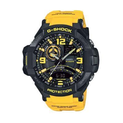 Jam G Shock Asj50 Hitam Kuning harga casio g shock ga 1000 9gdr hitam gold jam tangan pria pricenia