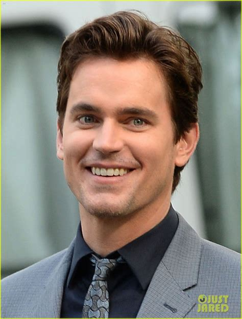 White Collar Cowboy matt bomer s beautiful smile lights up the white collar