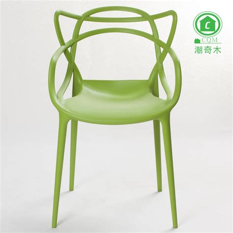 Plastic Armchair Design Ideas Vines Plastic Chair Dining Chair Creative Design Minimalist Fashion Designer Casual Outdoor
